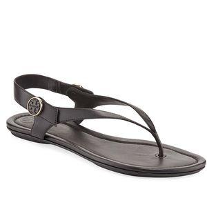 5c3cc4d6d2cbb4 Women s Black Tory Burch Sandals